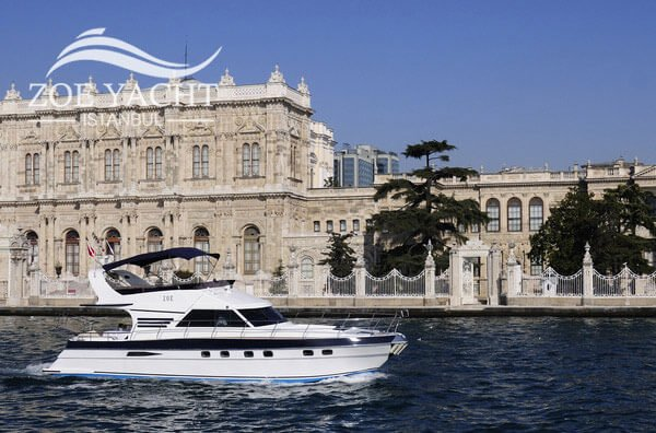 Image of a short Bosphorus cruise tour by boat in Istanbul Turkey